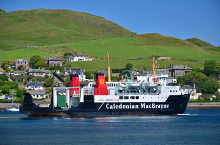 Campbeltown, Hebridean Isles in Campbeltown harbour, Argyllshire © TheTurfBurner